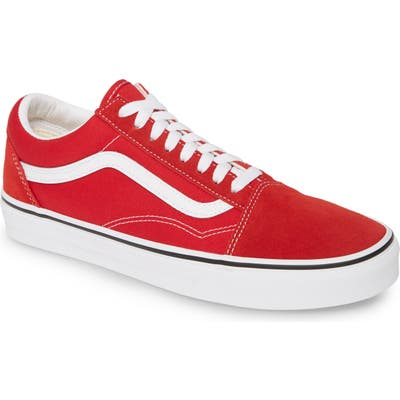 Vans Old Skool Sneaker, Red