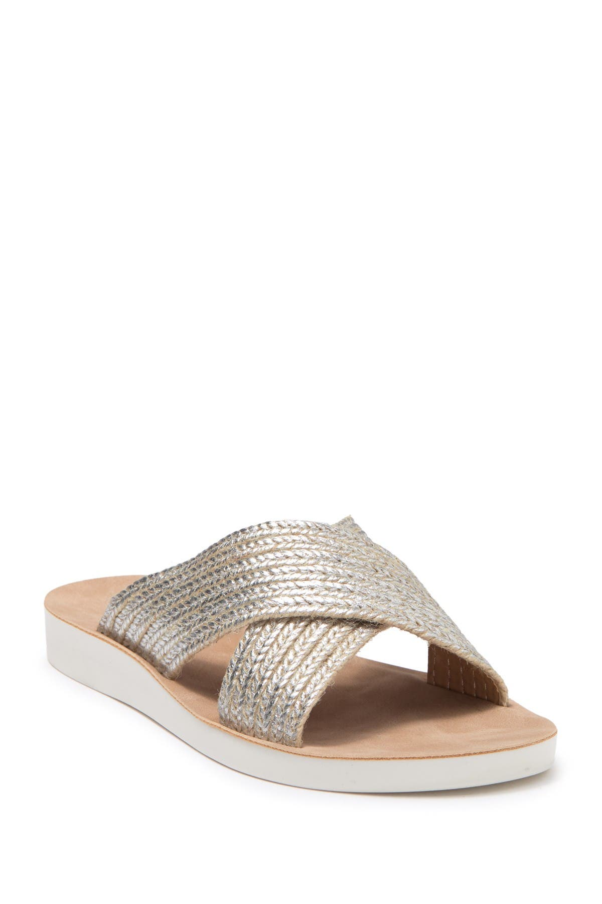 Goal Crossband Comfort Slide Sandal
