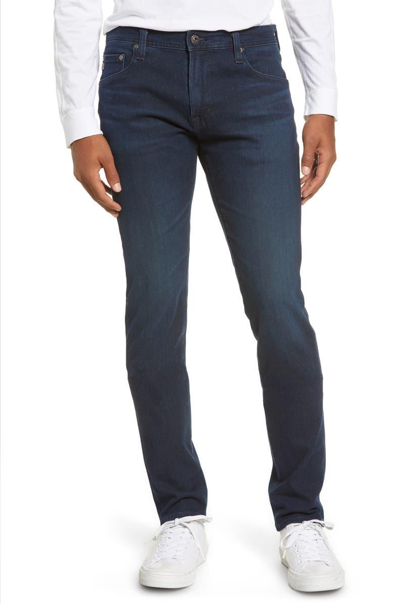 AG Dylan Skinny Fit Jeans, Main, color, EQUATION