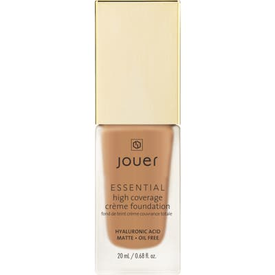 Jouer Essential High Coverage Creme Foundation - Walnut