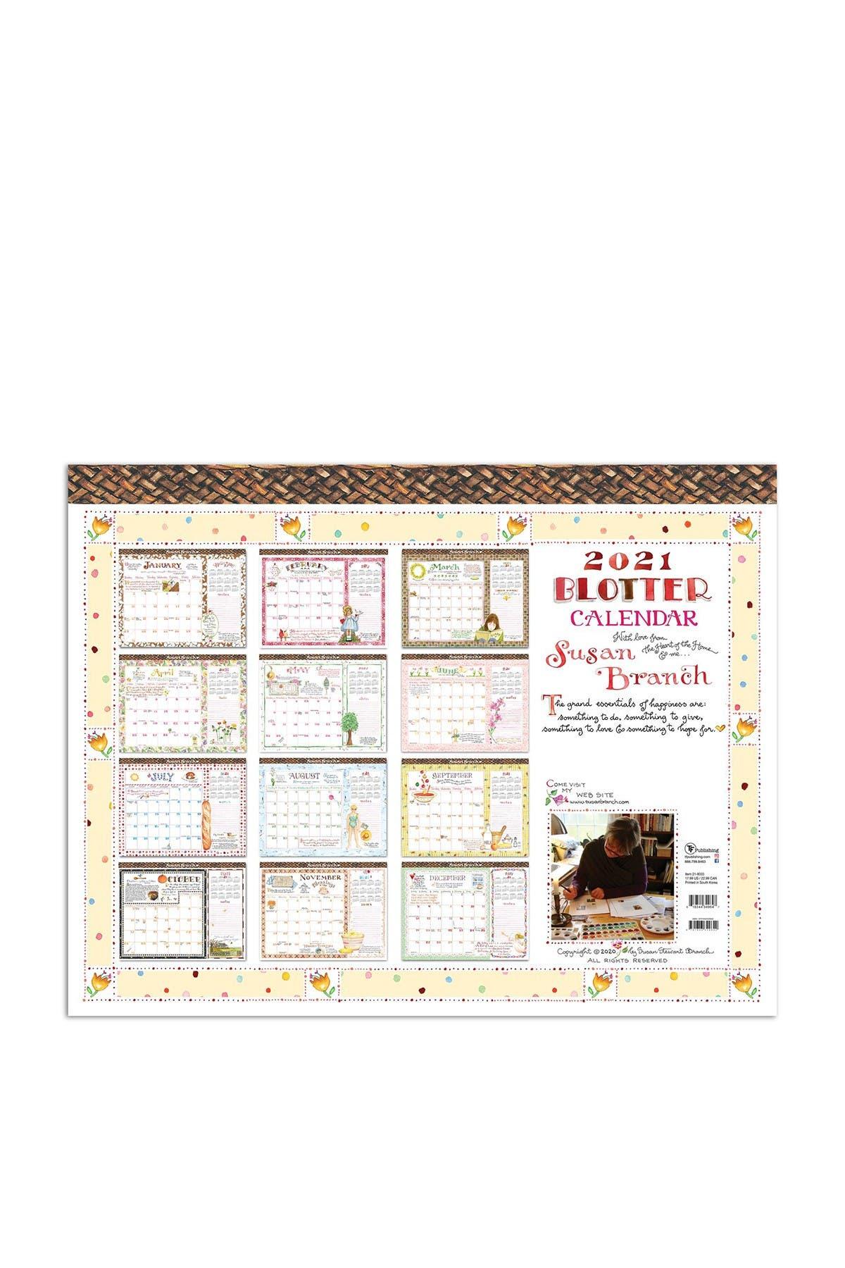 Image of TF Publishing 2021 Susan Branch Desk Pad Calendar