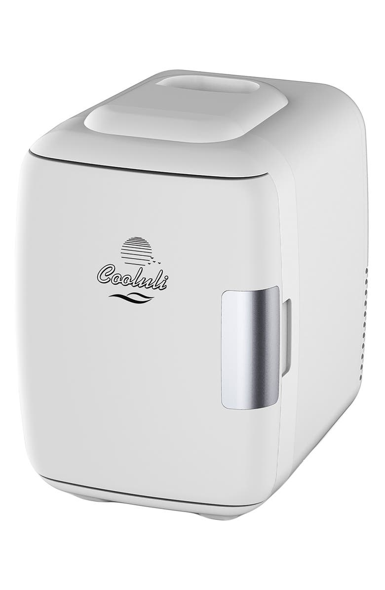 4L Thermoelectric Mini Beauty Fridge & Warmer, Main, color, WHITE