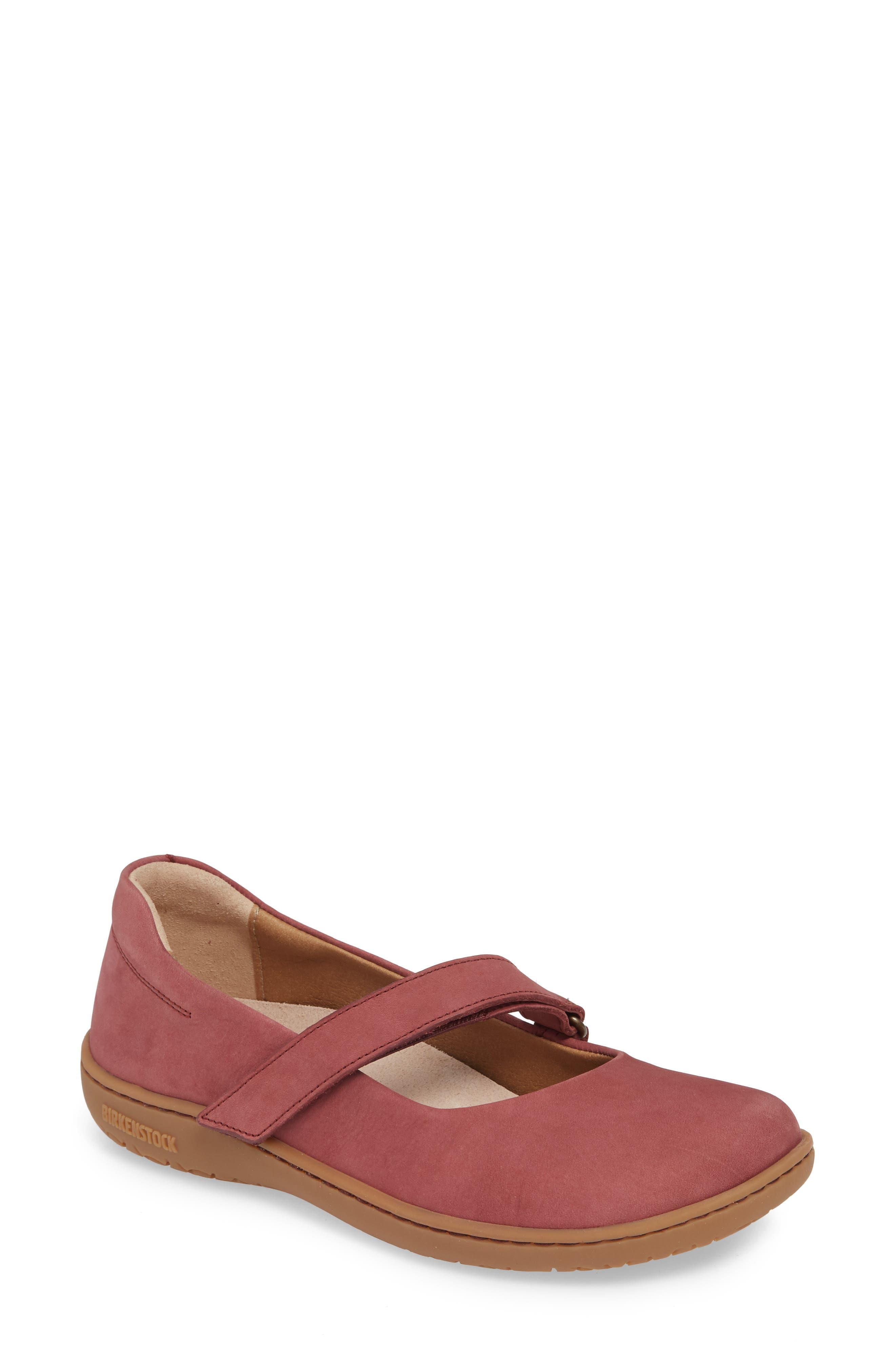 Birkenstock Lora Flat - Red