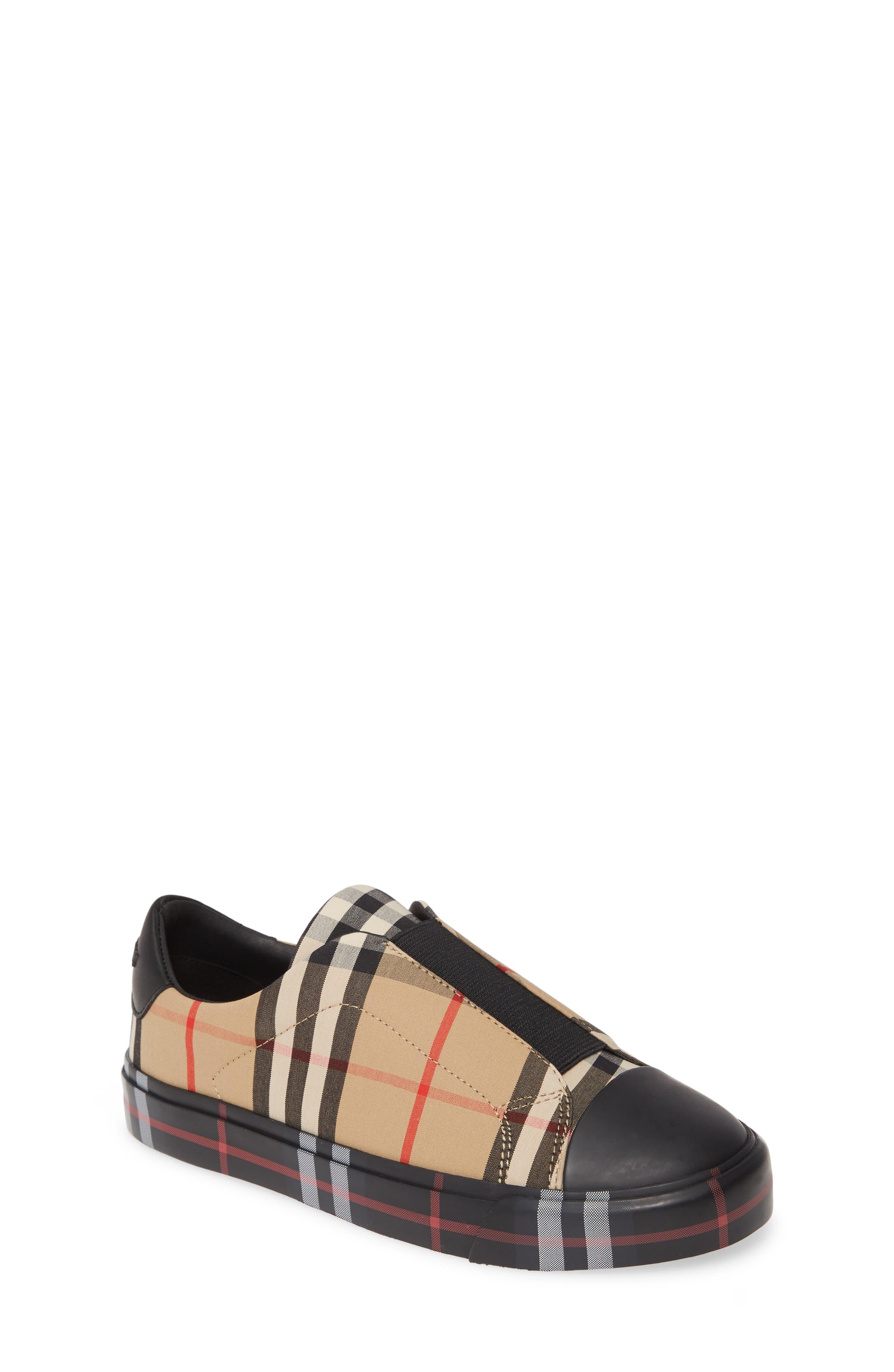 Burberry Mini Markham Check Sneaker