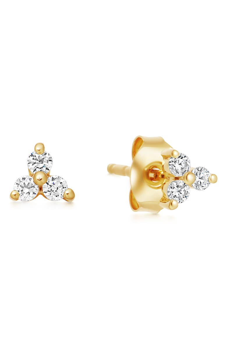 MISSOMA Trinal Prism Stud Earrings, Main, color, GOLD