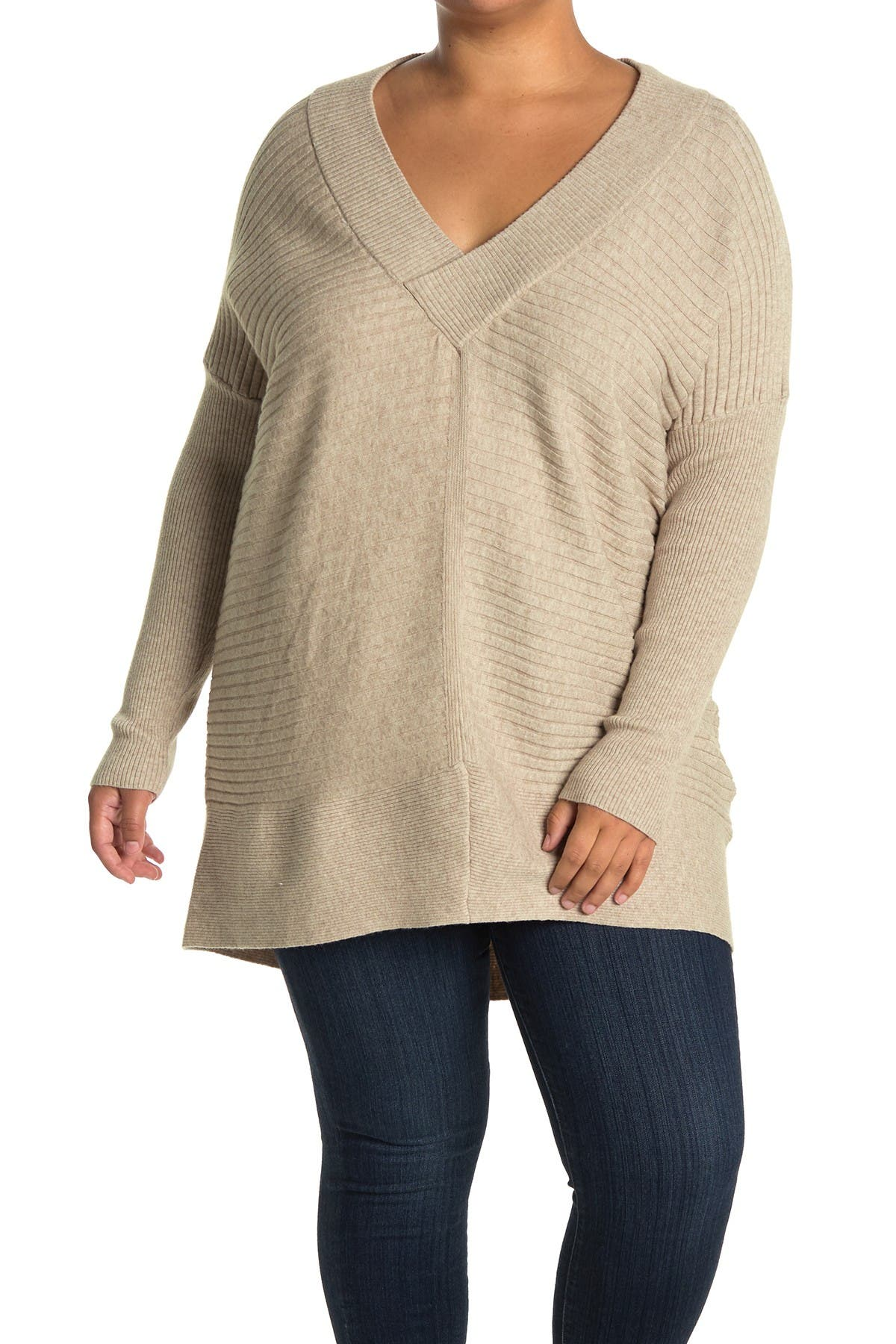 Image of STITCHDROP V-Neck Knit Sweater