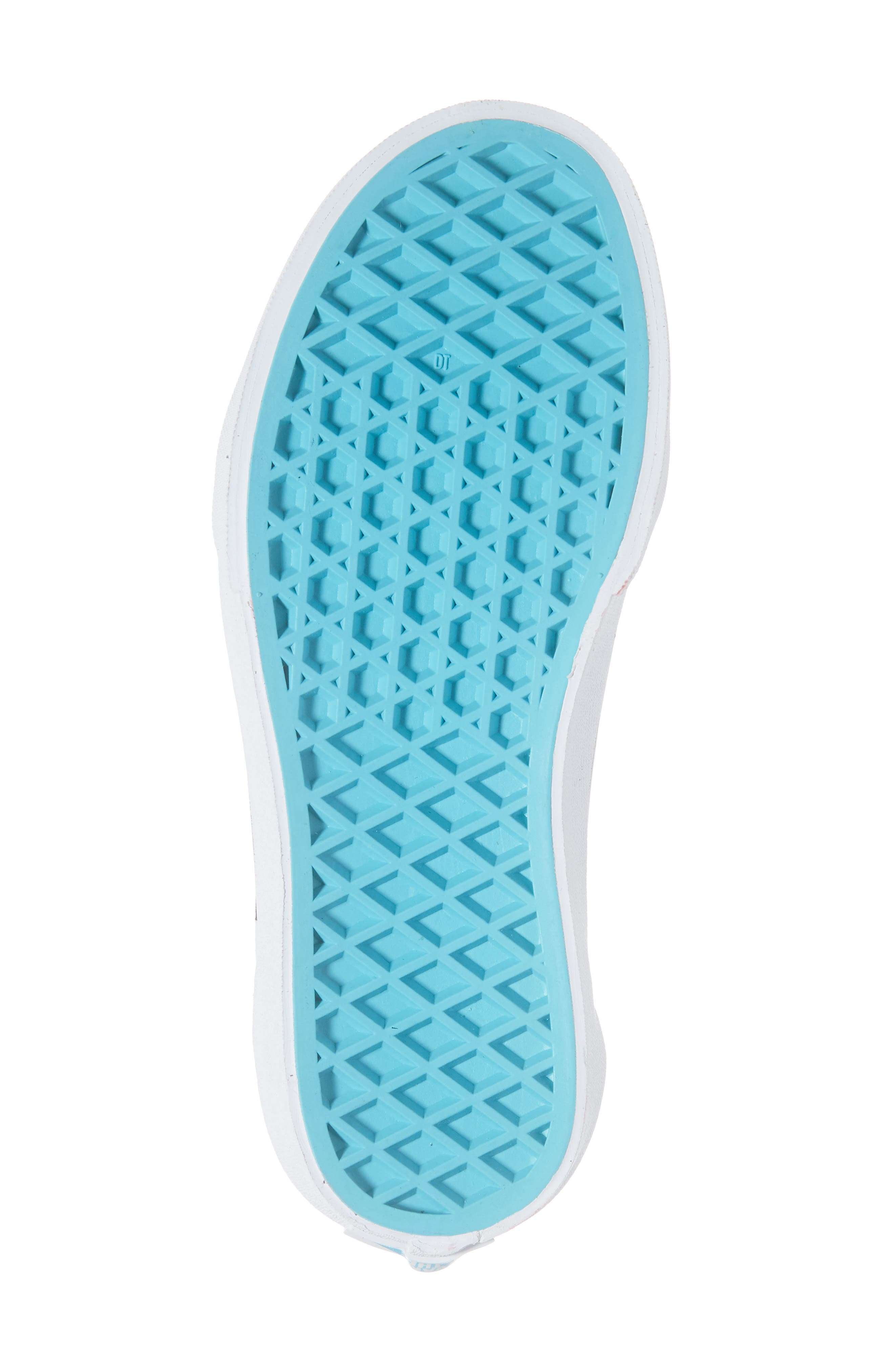 ,                             Old Skool V Sneaker,                             Alternate thumbnail 6, color,                             SCUBA BLUE/ BLACK