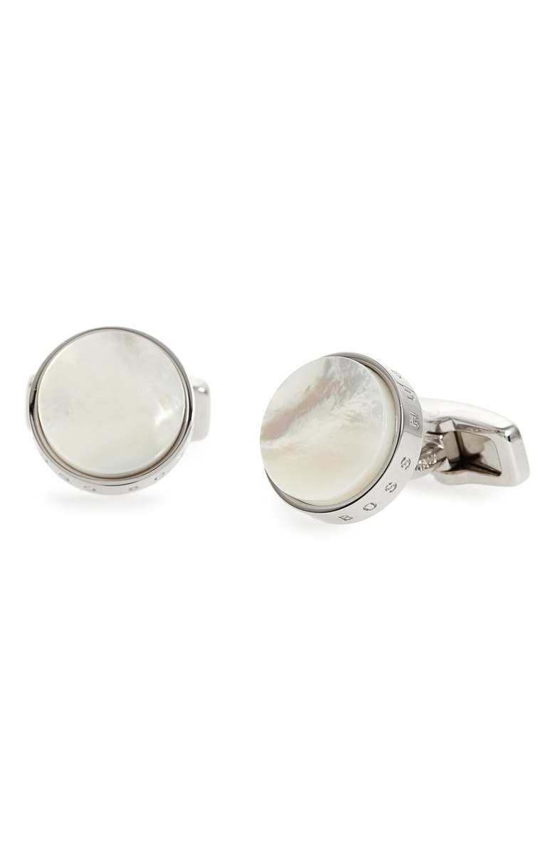 BOSS Layton Cuff Links, Main, color, 100