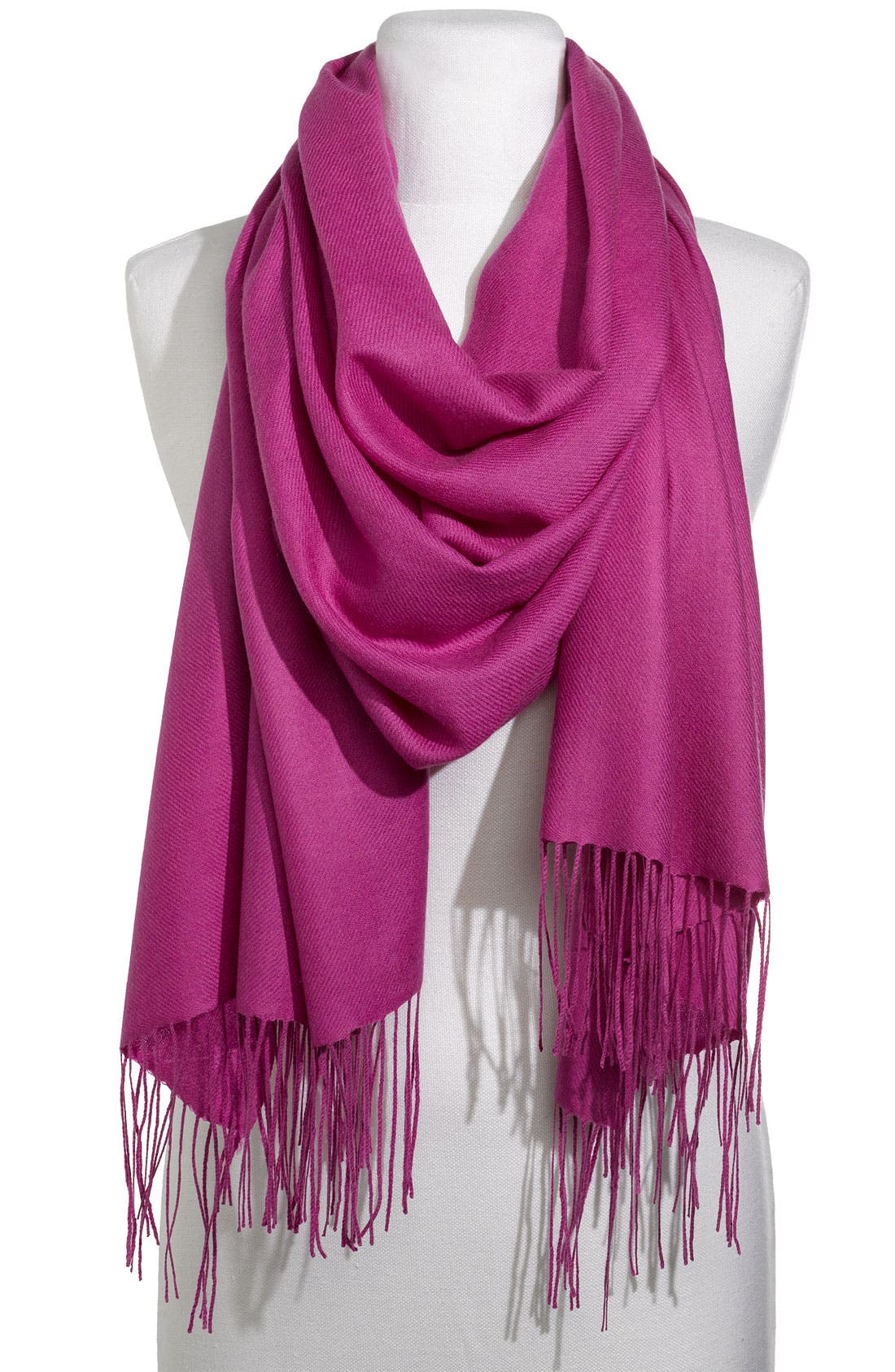 ,                             Tissue Weight Wool & Cashmere Wrap,                             Main thumbnail 138, color,                             530