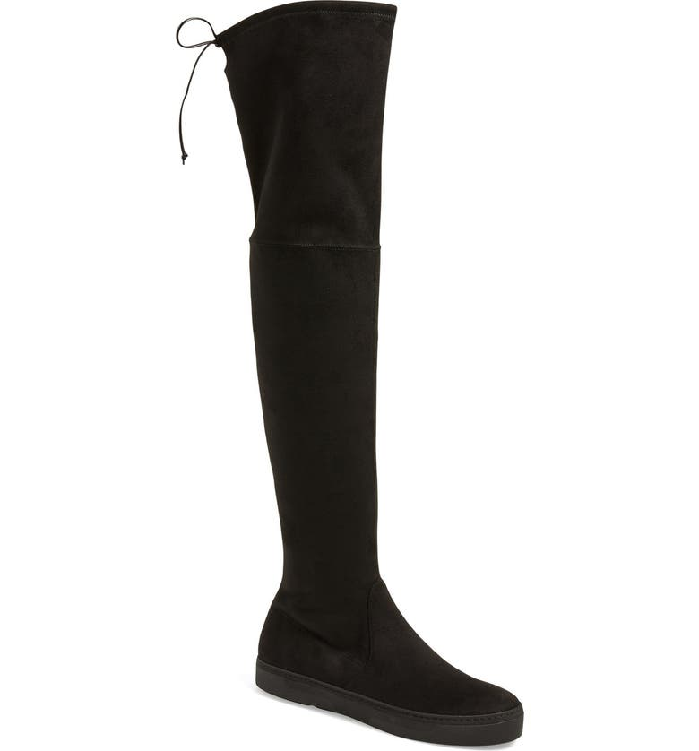 STUART WEITZMAN 'Playtime' Over the Knee Boot, Main, color, 001
