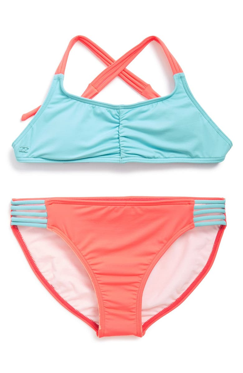 BILLABONG 'Sol Searcher' Two-Piece Swimsuit, Main, color, 410
