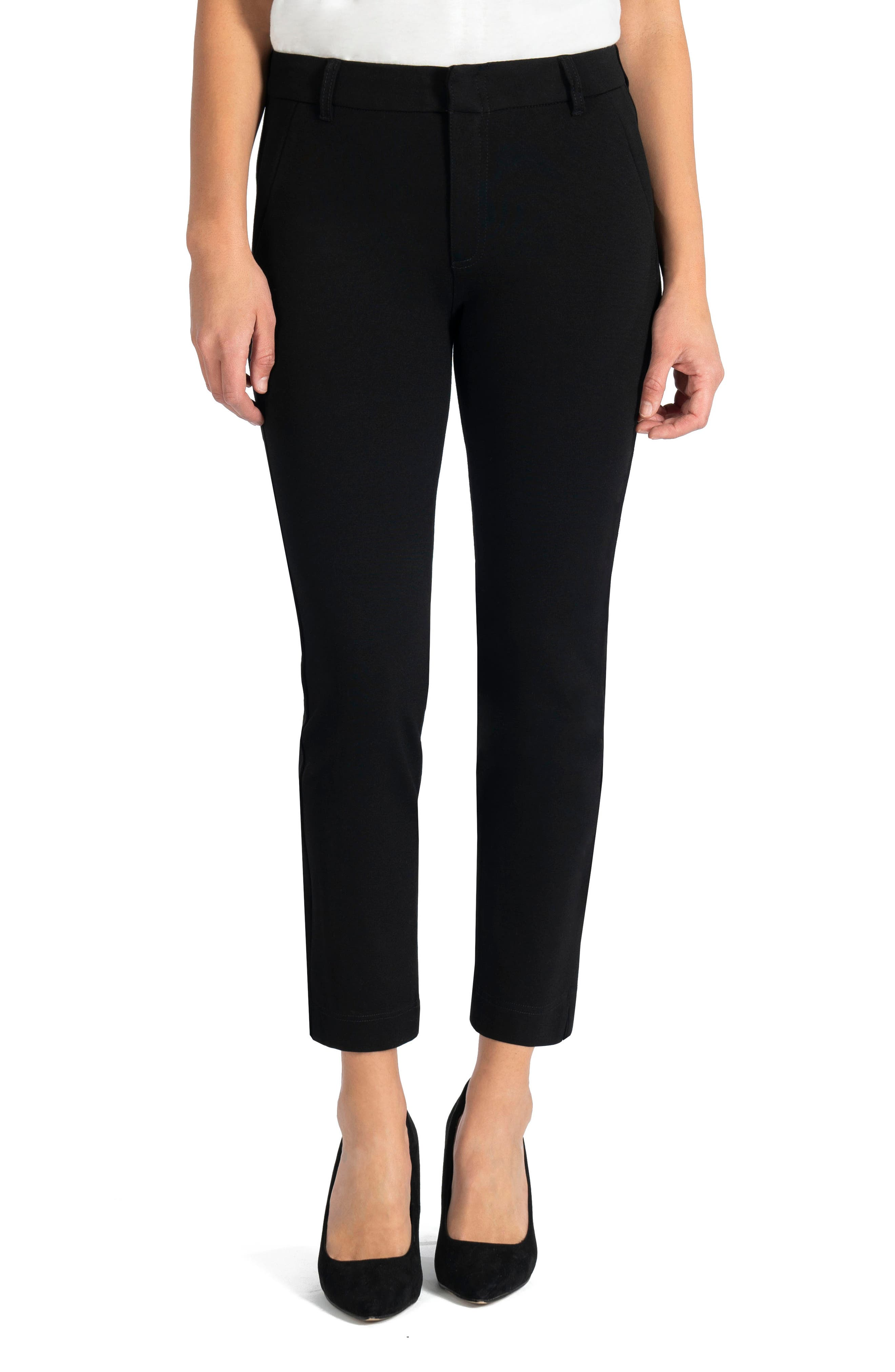 Image of KUT from the Kloth Elizabeth Straight Leg Ankle Pants