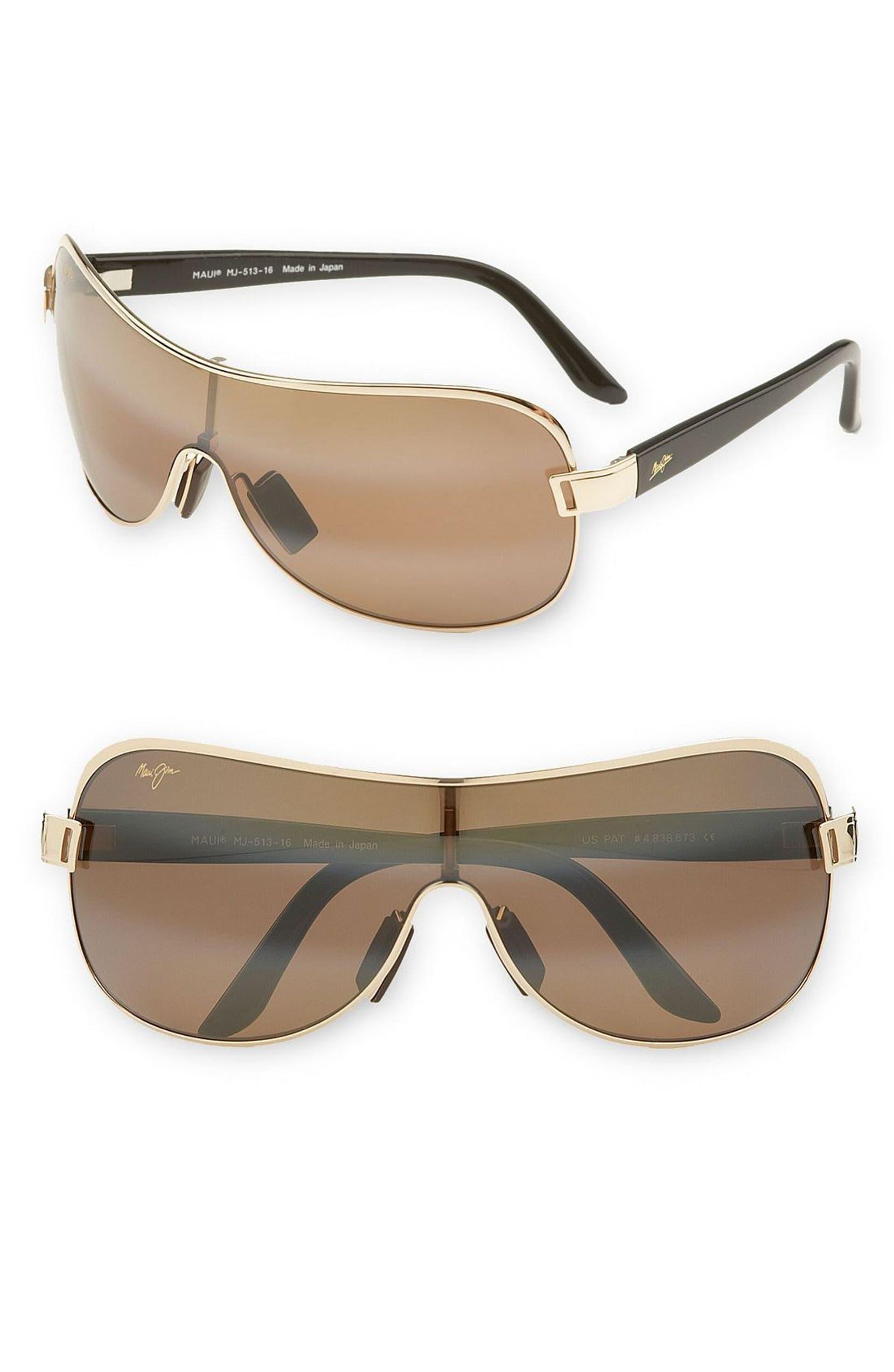 588c799c725 Maui Jim 'Maka - PolarizedPlus®2' 65mm Shield Sunglasses | Nordstrom