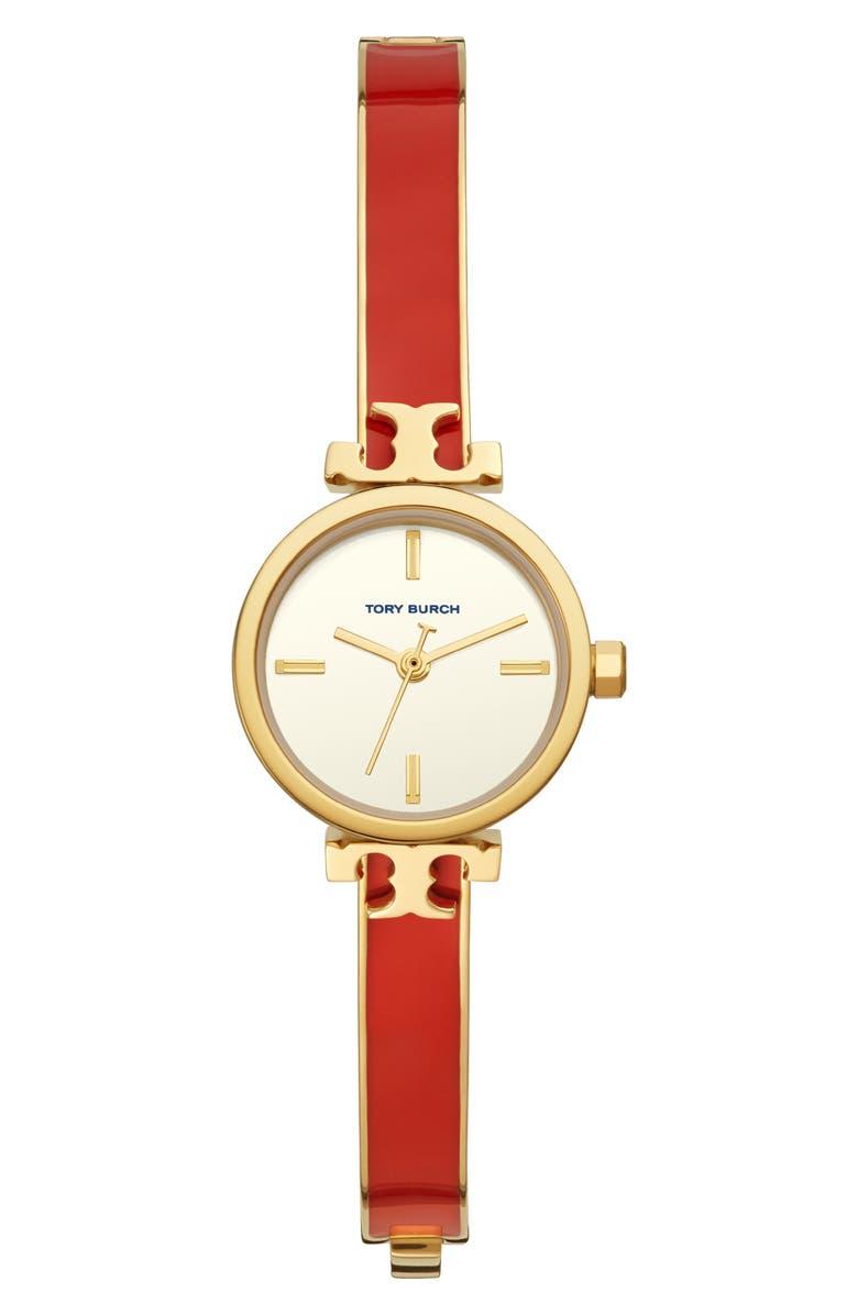 토리버치 Tory Burch The Slim Bangle Watch, 22mm,red