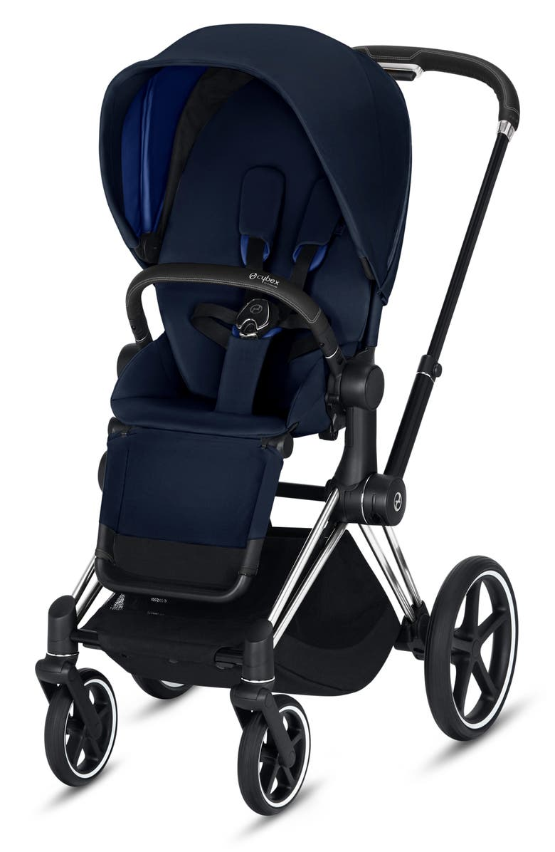 CYBEX Priam One Box Stroller with All Terrain Wheels, Main, color, INDIGO BLUE