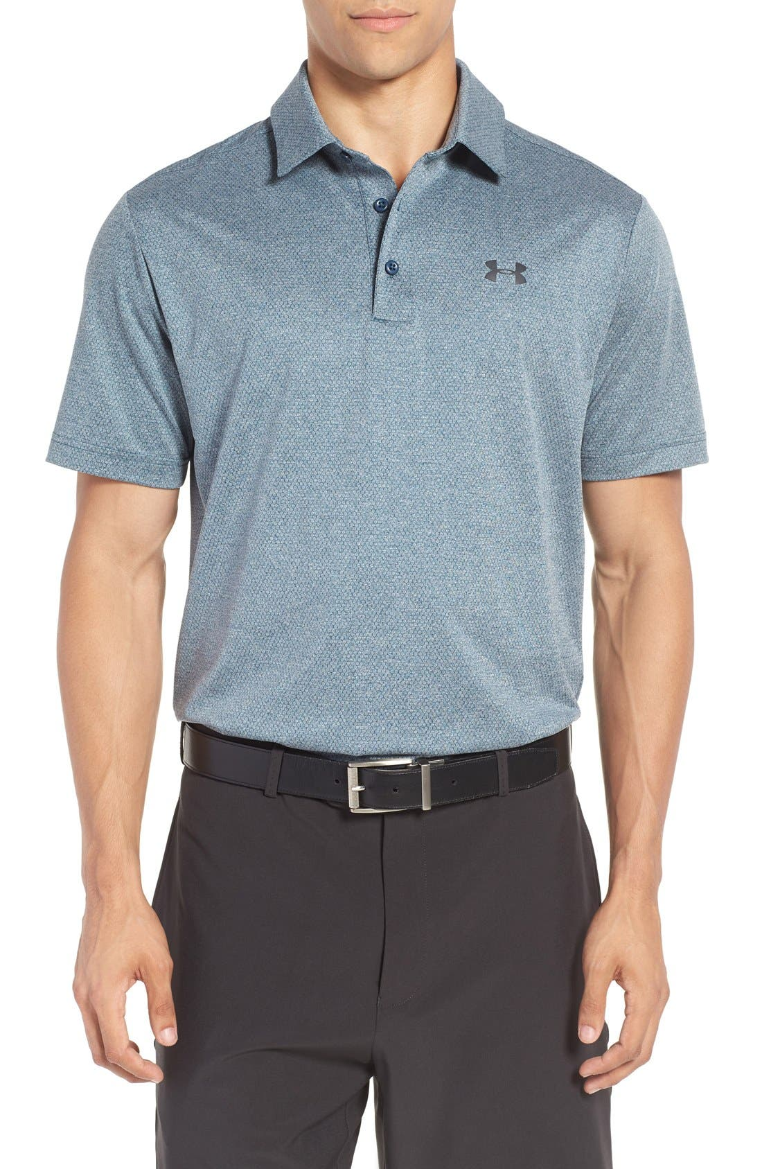 ,                             'Playoff' Loose Fit Short Sleeve Polo,                             Main thumbnail 410, color,                             861