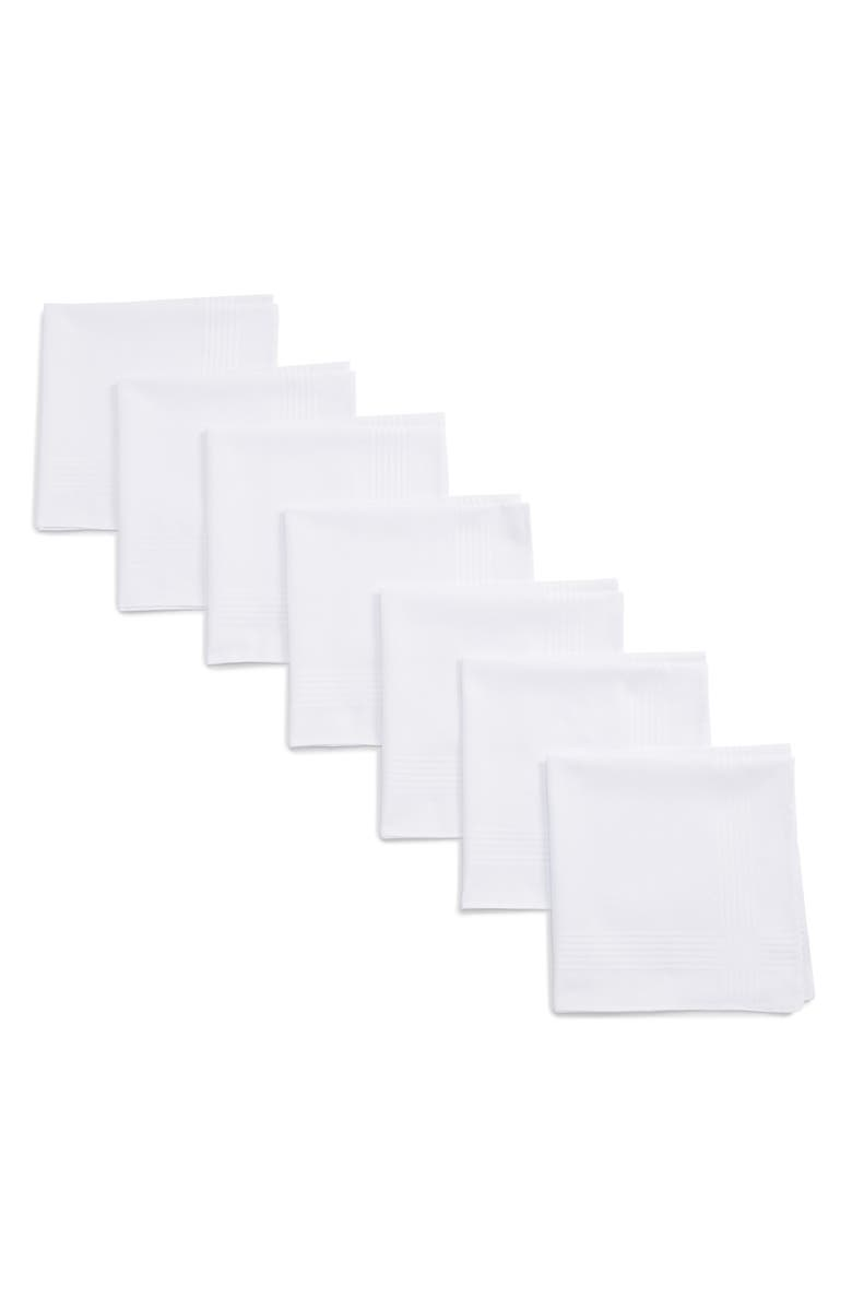 NORDSTROM MEN'S SHOP 13-Pack Handkerchiefs, Main, color, ASSORTED