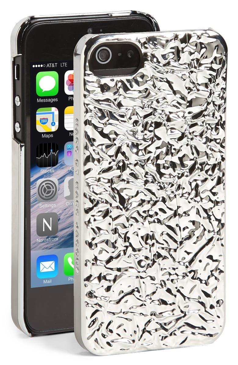 MARC JACOBS MARC BY MARC JACOBS 'Foil' iPhone 5 & 5s Case, Main, color, 040