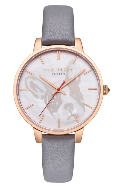 Image of Ted Baker London Women's Kate Leather Strap Watch, 38mm