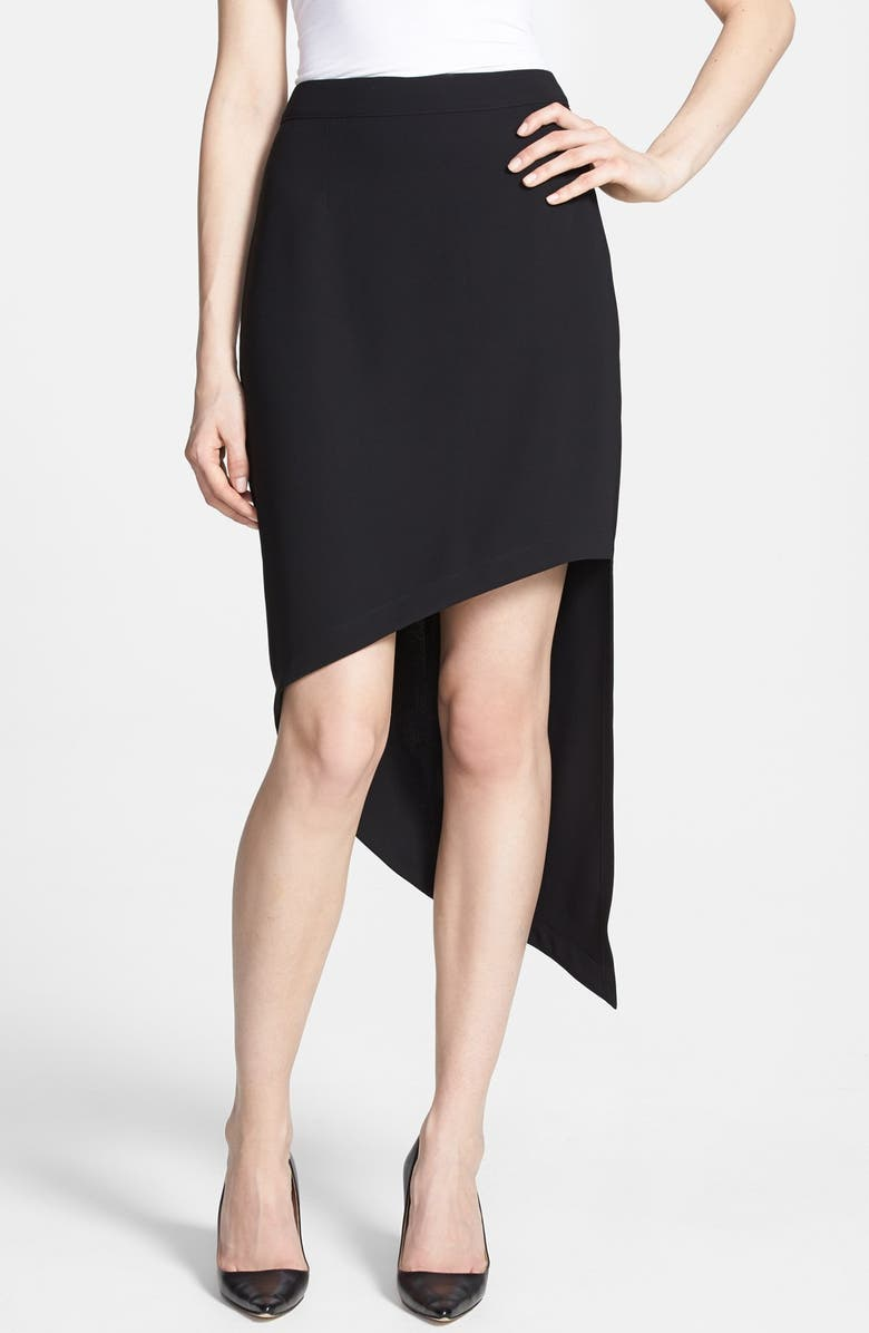 ROBBI & NIKKI Asymmetric Skirt, Main, color, 001
