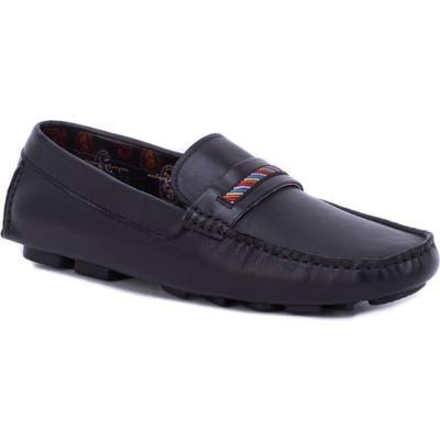 Robert Graham Hart Ii Driving Shoe, Black