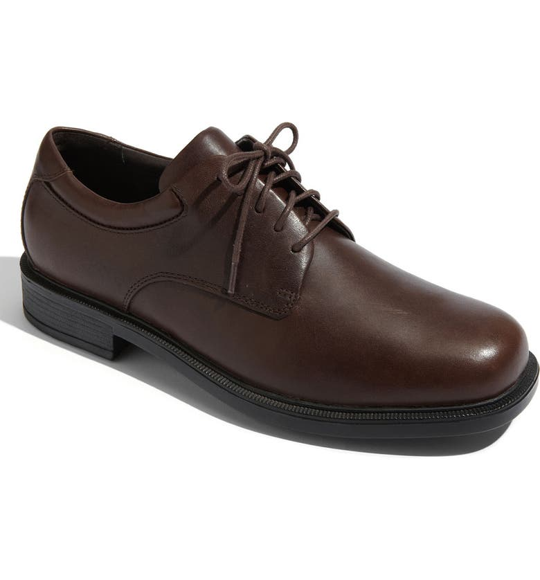 ROCKPORT 'Margin' Oxford, Main, color, CHOCOLATE LEATHER