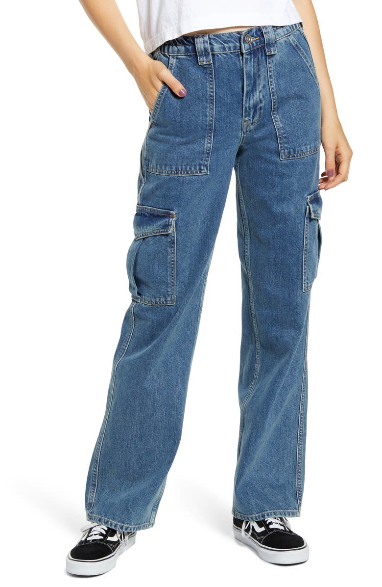 BDG URBAN OUTFITTERS Skate Jeans, Main, color, LIGHT DENIM