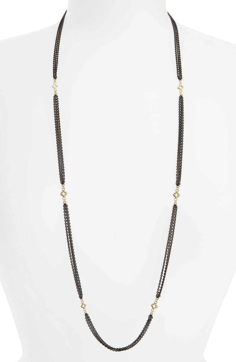 ARMENTA Old World Beaded Station Necklace, Main, color, 710