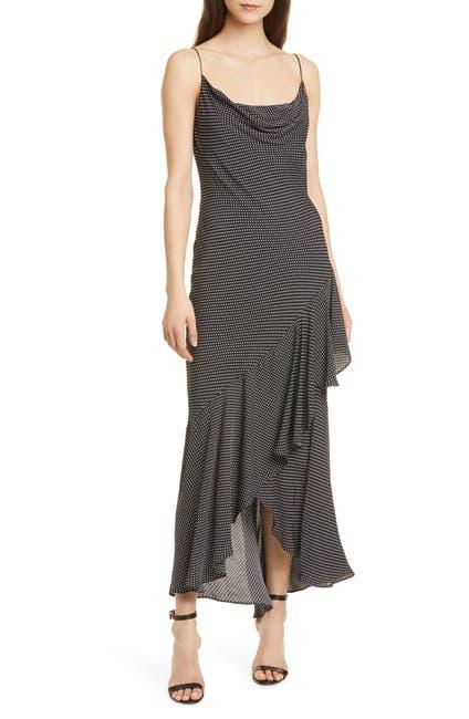 Image of alice + olivia Ginger Cowl Neck Slip Maxi Dress