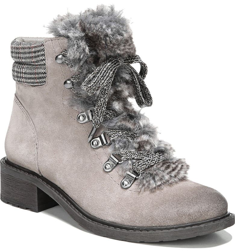 SAM EDELMAN Darrah 2 Faux Fur Trim Boot, Main, color, 021