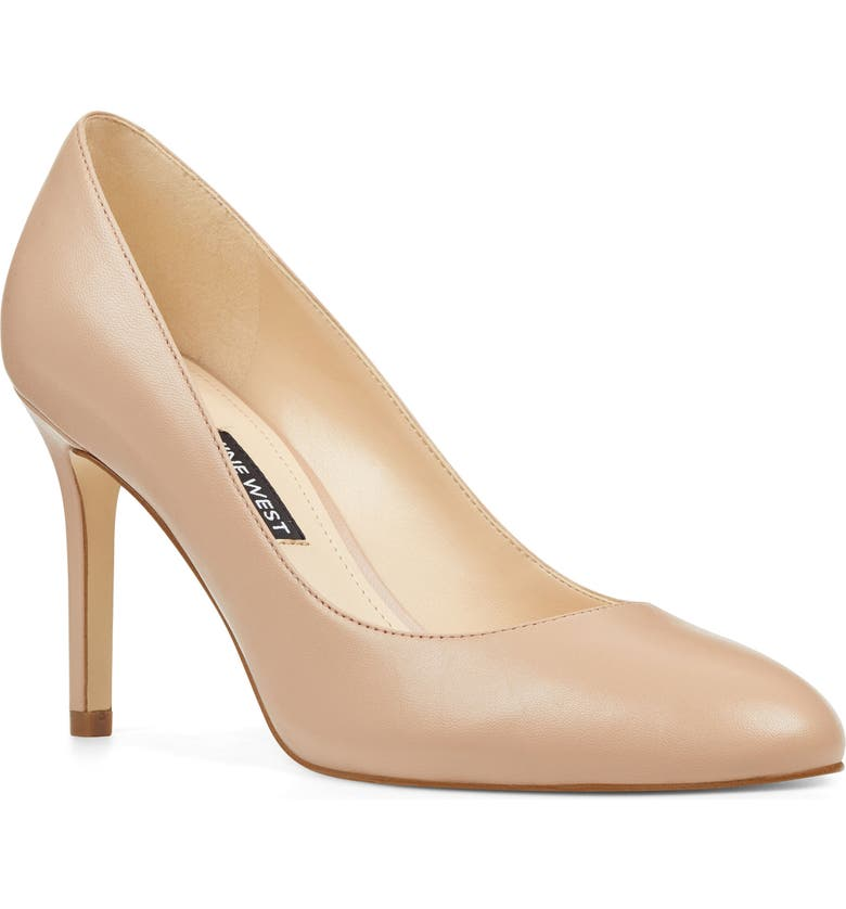 NINE WEST Dylan Pump, Main, color, BARELY NUDE LEATHER