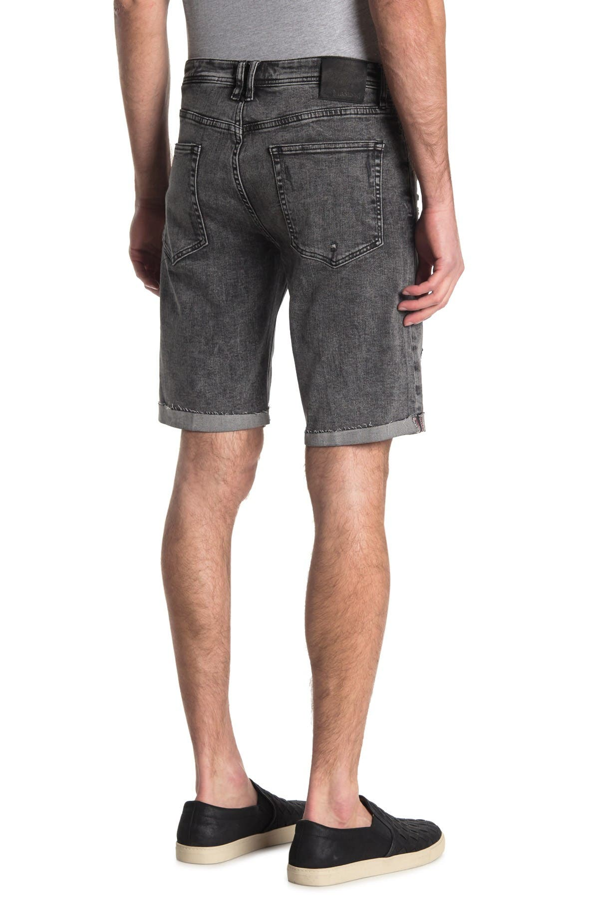 Image of BLANKNYC Denim Wooster Distressed Denim Shorts