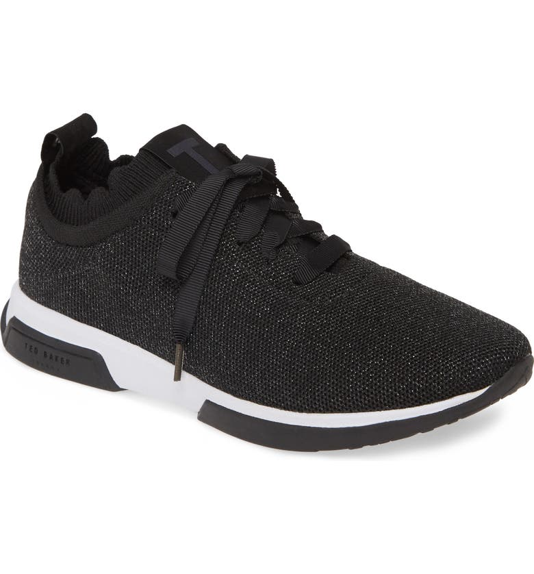 TED BAKER LONDON Lyara Sneaker, Main, color, BLACK