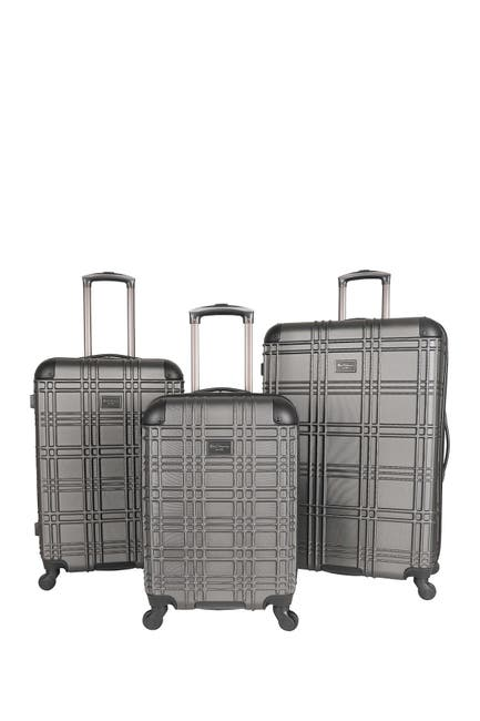 Image of Ben Sherman Nottingham 3-Piece 4-Wheel Spinner Hardside Luggage Set