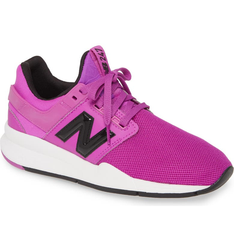 NEW BALANCE 247 Sneaker, Main, color, PURPLE/ WHITE