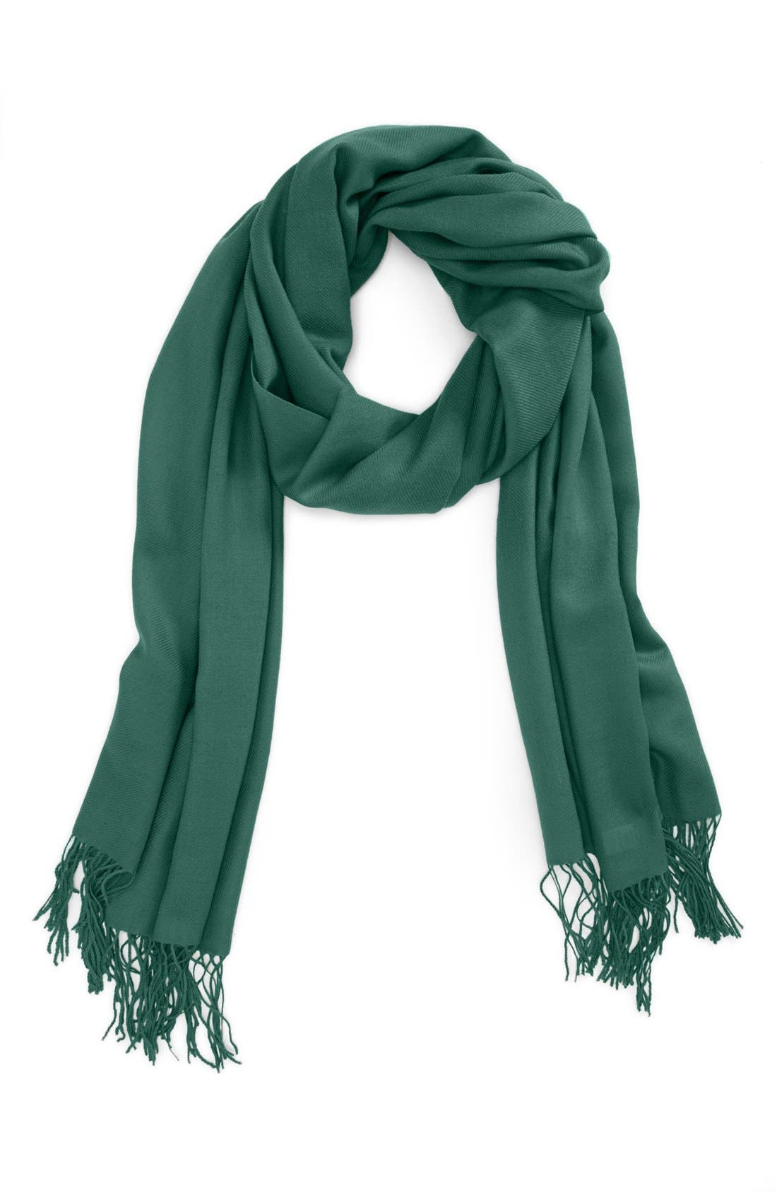 ,                             Tissue Weight Wool & Cashmere Wrap,                             Main thumbnail 65, color,                             354
