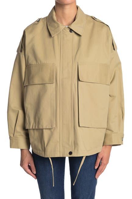 Image of Elodie Plush Lined Utility Jacket