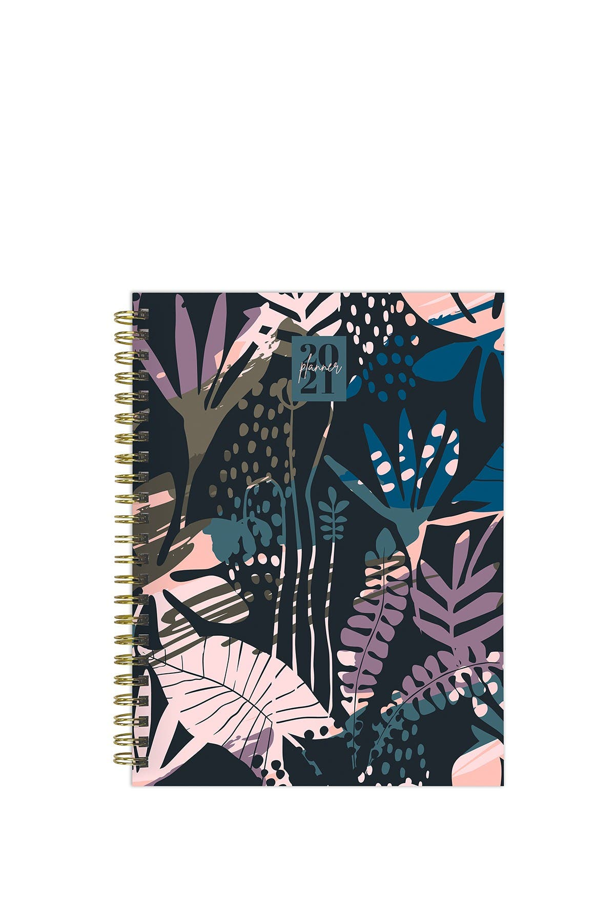 Image of TF Publishing 2021 Painted Foliage Medium Weekly Monthly Planner