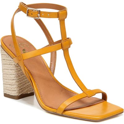 Sarto By Franco Sarto Vix T-Strap Sandal- Grey