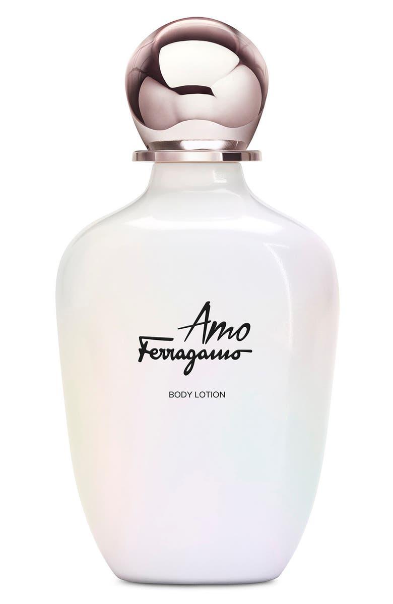 SALVATORE FERRAGAMO Amo Ferragamo Body Lotion, Main, color, NO COLOR