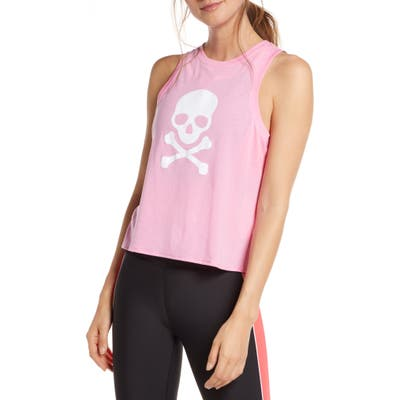 Soul By Soulcycle Callie Crop Tank, Pink