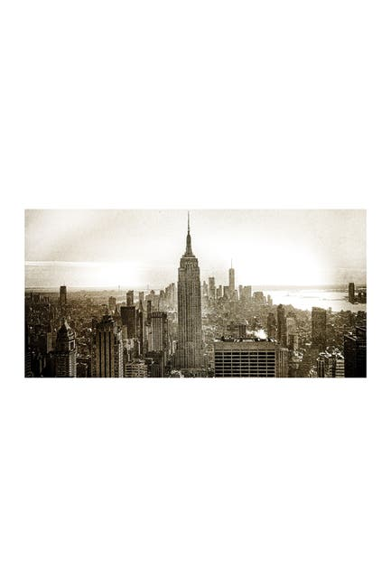 """Image of COURTSIDE MARKET New York City 45"""" x 96"""" Mural"""