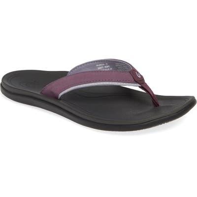 Olukai Punua Flip Flop, Purple
