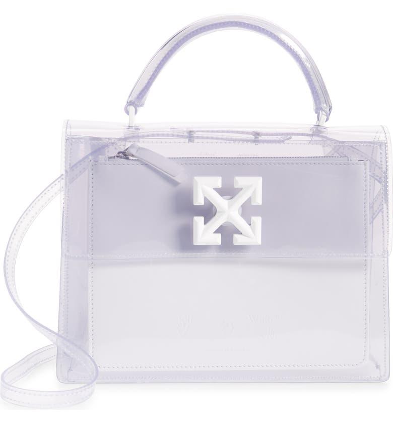 OFF-WHITE Jitney 2.8 Transparent Bag, Main, color, TRANSPARENT