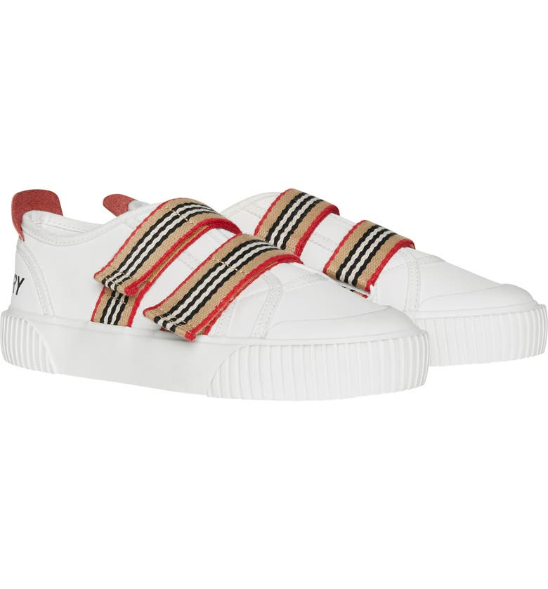 BURBERRY Ray Sneaker, Main, color, OPTIC WHITE