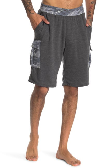 Image of Chillin Dylan Comfy Camo Print Cargo Shorts