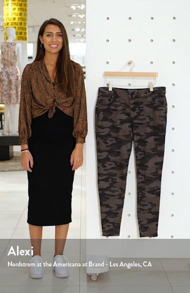 Ab-Solution Camo Print Side Zip Pants, sales video thumbnail