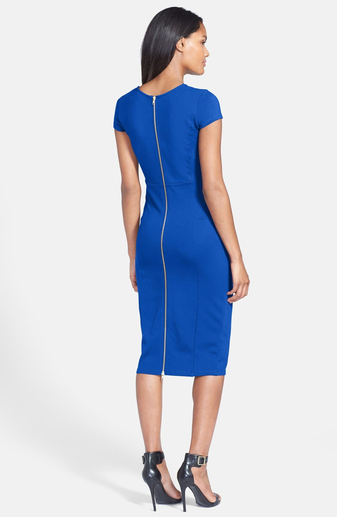 ,                             Ward Seamed Pencil Dress,                             Alternate thumbnail 25, color,                             424