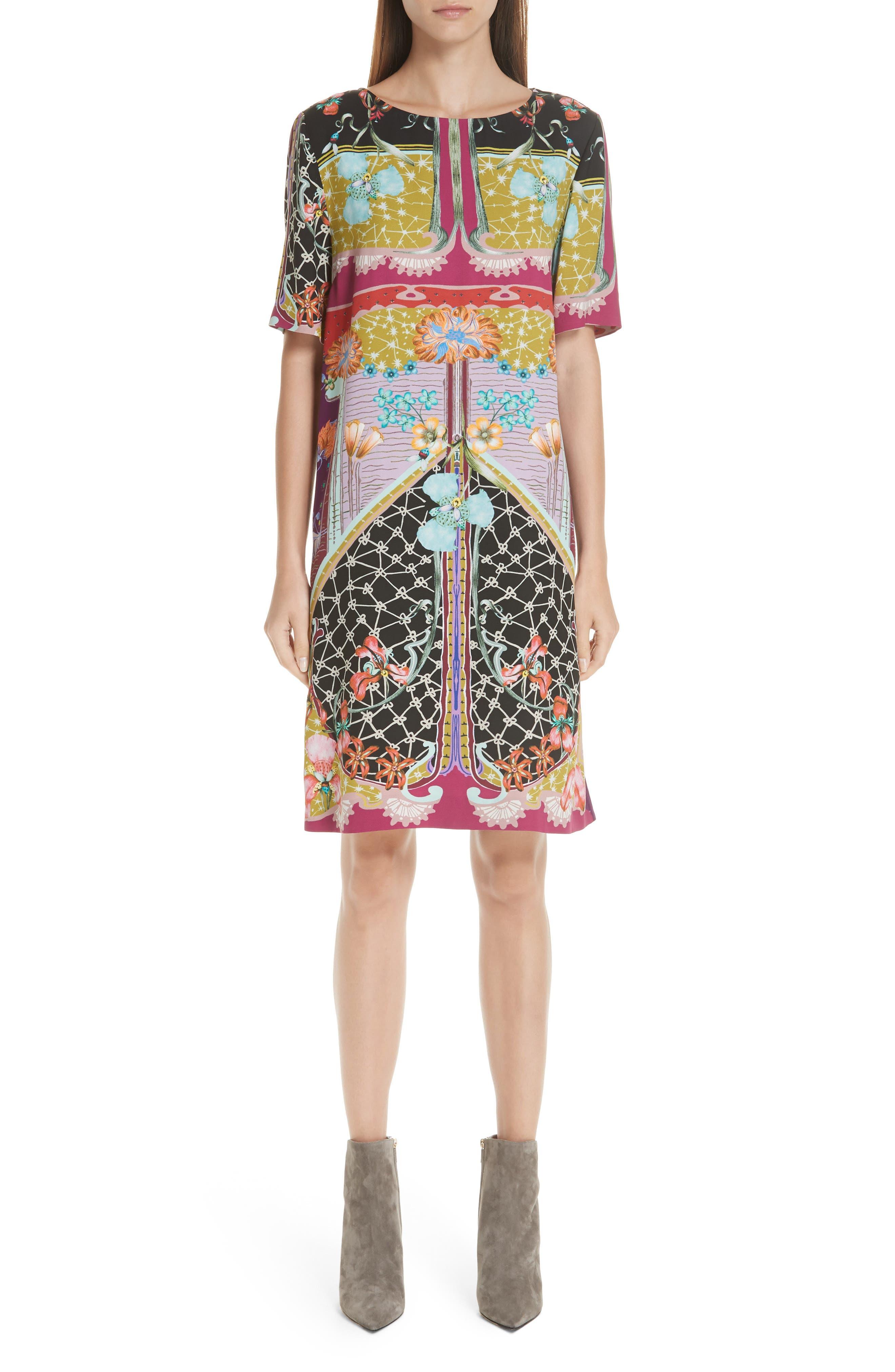 Etro Multi Print Tunic Dress
