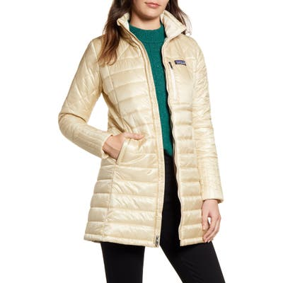 Patagonia Radalie Water Repellent Insulated Parka, White